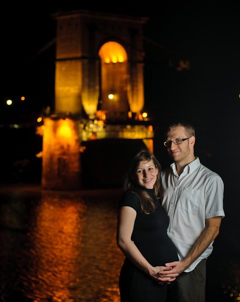 Catherine et Sylvain - Portrait nocturne