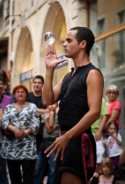 Chalon dans la rue - Nimi, jongleur israélien