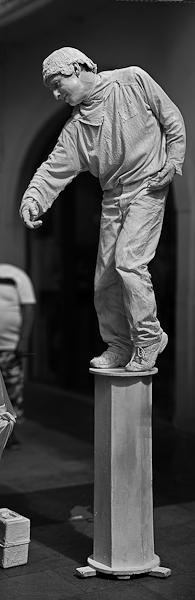 Chalon dans la rue - Homme statue