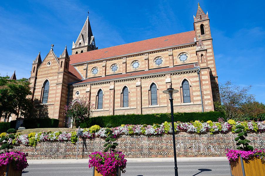 L'église de Genas près de Lyon