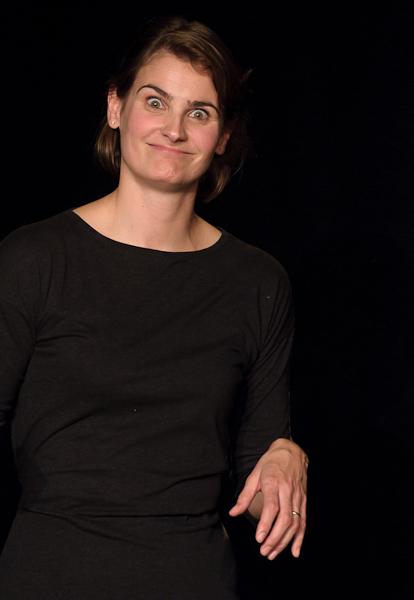 La comédienne joue un personnage de sorcière psychopate