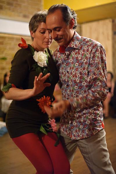 deux danseurs de Tango