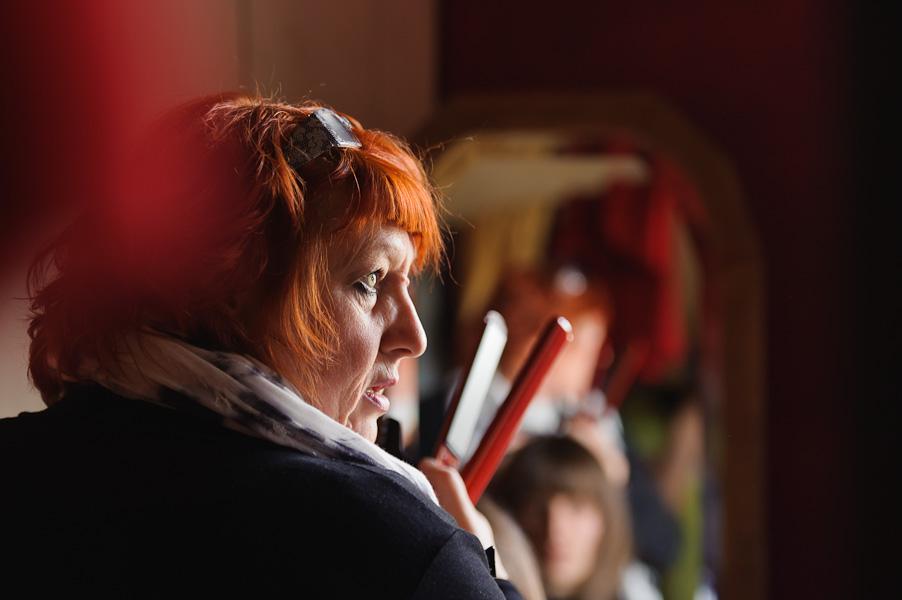 Portrait de la coiffeuse